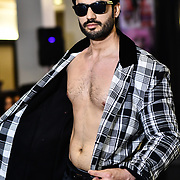 Dyas Ali showcases a set (Vaya Lesso) at SMGlobal Catwalk - London Fashion Week F/W19 at Clayton Crown Hotel,  Cricklewood Broadway, on 1st March 2019, London, UK.