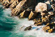 Rocks and surf, Julia Pfeiffer Burns State Park, Big Sur, California