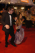 arrive at the 2006 BAFTA Awards at the Leicester Square Odeon Cinema in London. 19 February 2006.  -DO NOT ARCHIVE-© Copyright Photograph by Dafydd Jones 66 Stockwell Park Rd. London SW9 0DA Tel 020 7733 0108 www.dafjones.com
