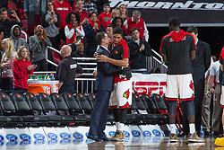 Louisville guard/forward Wayne Blackshear. <br /> <br /> The University of Louisville hosted the University of Miami, Saturday, Feb. 21, 2015 at The Yum Center in Louisville. Louisville won 55-53.<br /> <br /> Photo by Jonathan Palmer