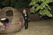 Amanda Elliasch, The Summer Party sponsored by Yves St. Laurent. Serpentine Gallery. 11 July 2006. . ONE TIME USE ONLY - DO NOT ARCHIVE  © Copyright Photograph by Dafydd Jones 66 Stockwell Park Rd. London SW9 0DA Tel 020 7733 0108 www.dafjones.com