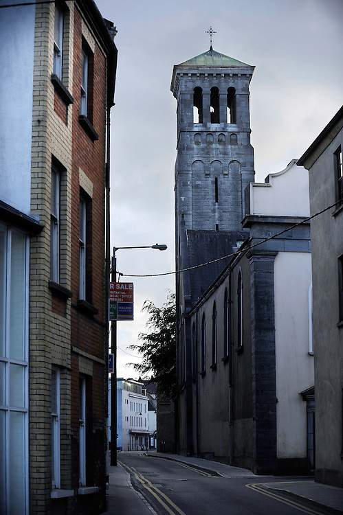 A street view in Waterford, Ireland.