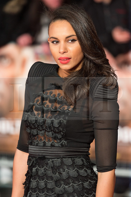 © Licensed to London News Pictures. 28/11/2016. LOUISE HAZEL attend's the I Am Bolt world film premiere. London, UK. Photo credit: Ray Tang/LNP