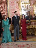 012313 Spanish Royals Receive Foreign Ambassadors