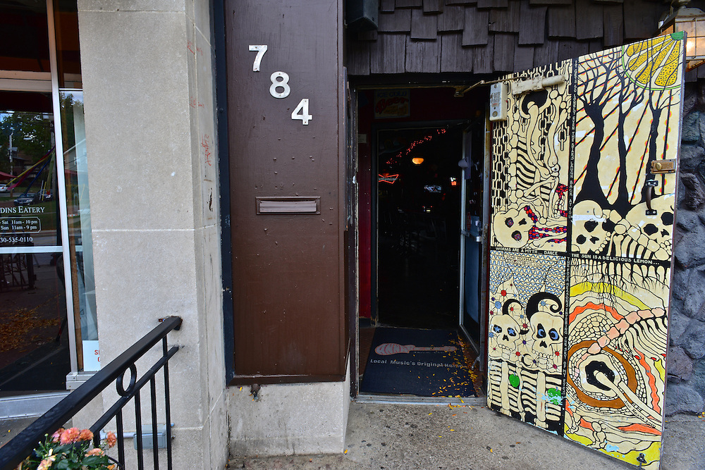 Front door to Annabell's Lounge.