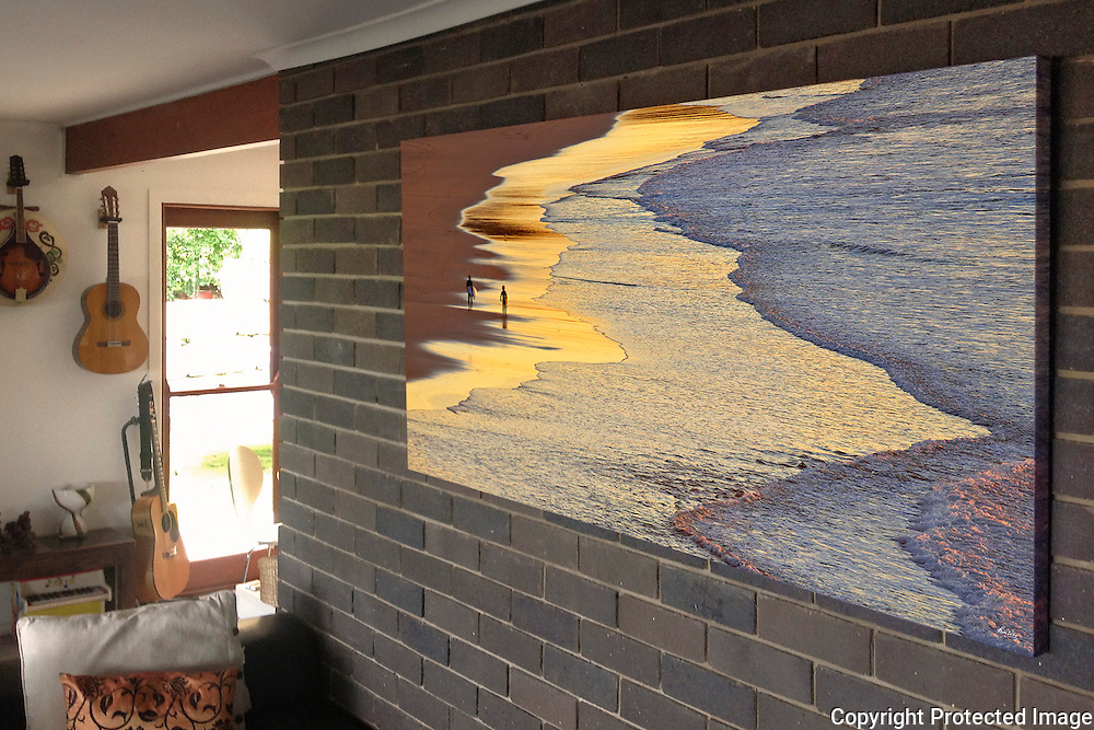 father and son_1.6Mx80cm mural