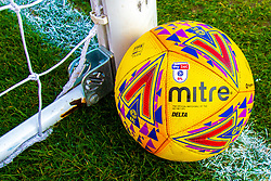 A Sky Bet EFL Match Ball at the One Call Stadium, home to Mansfield Town - Mandatory by-line: Ryan Crockett/JMP - 23/02/2019 - FOOTBALL - One Call Stadium - Mansfield, England - Mansfield Town v Forest Green Rovers - Sky Bet League Two