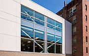 Architectural exterior image of Gonzaga College High School in Washington DC by Jeffrey Sauers of Commercial Photographics