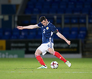 10th November 2017, McDiarmid Park, Perth, Scotland, UEFA Under-21 European Championships Qualifier, Scotland versus Latvia; Scotland's Scott McKenna