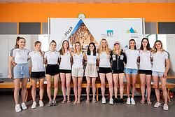 Slovenian National Climbing Women team before new season, on June 30, 2020 in Koper / Capodistria, Slovenia. Photo by Vid Ponikvar / Sportida
