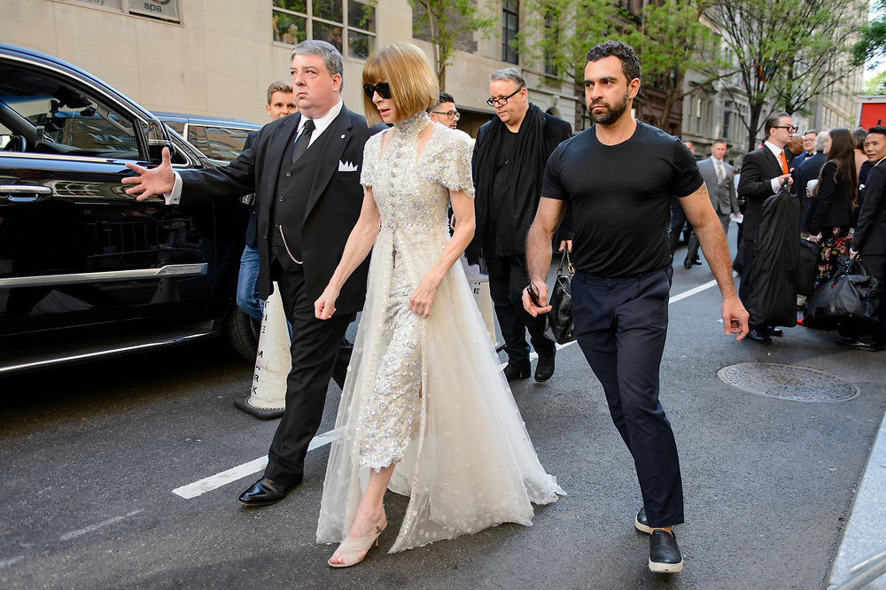 Anna Wintour at the Met Gala 2018