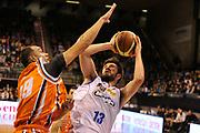 DESCRIZIONE : Treviso Lega due 2015-16  Universo Treviso De Longhi - Aurora Basket Jesi<br /> GIOCATORE : matteo fantinelli<br /> CATEGORIA : Tiro<br /> SQUADRA : Universo Treviso De Longhi - Aurora Basket Jesi<br /> EVENTO : Campionato Lega A 2015-2016 <br /> GARA : Universo Treviso De Longhi - Aurora Basket Jesi<br /> DATA : 31/10/2015<br /> SPORT : Pallacanestro <br /> AUTORE : Agenzia Ciamillo-Castoria/M.Gregolin<br /> Galleria : Lega Basket A 2015-2016  <br /> Fotonotizia :  Treviso Lega due 2015-16  Universo Treviso De Longhi - Aurora Basket Jesi