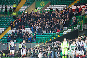 Dundee fans - Celtic v Dundee in the Ladbrokes Scottish Premiership at Celtic Park, Glasgow. Photo: David Young<br /> <br />  - © David Young - www.davidyoungphoto.co.uk - email: davidyoungphoto@gmail.com