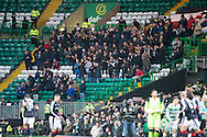 Dundee fans - Celtic v Dundee in the Ladbrokes Scottish Premiership at Celtic Park, Glasgow. Photo: David Young<br /> <br />  - &copy; David Young - www.davidyoungphoto.co.uk - email: davidyoungphoto@gmail.com