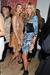 Left to right, WHITNEY PORT and MELISSA ODABASH at the 2012 Rodial Beautiful Awards held at The Sanderson Hotel, Berners Street, London on 6th March 2012.