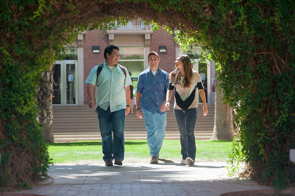 University of Arizona  students on campus