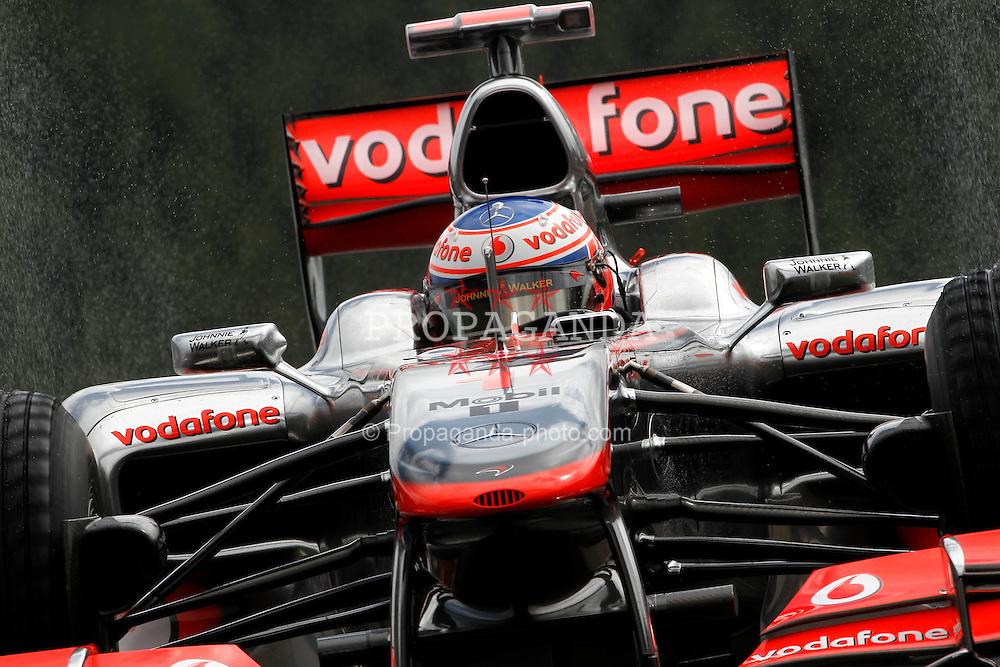 Motorsports / Formula 1: World Championship 2010, GP of Belgium, 01 Jenson Button (GBR, Vodafone McLaren Mercedes),