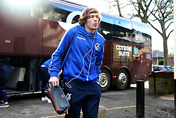 Luke James of Bristol Rovers arrives at the Crown Oil Arena - Mandatory by-line: Matt McNulty/JMP - 04/02/2017 - FOOTBALL - Crown Oil Arena - Rochdale, England - Rochdale v Bristol Rovers - Sky Bet League One