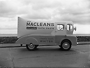 Macleans Van at Ringsend.16/03/1957