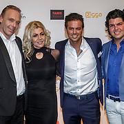 NLD/Amsterdam/20150302 - Uitreiking TV Beelden 2015, Rian Donders en partner