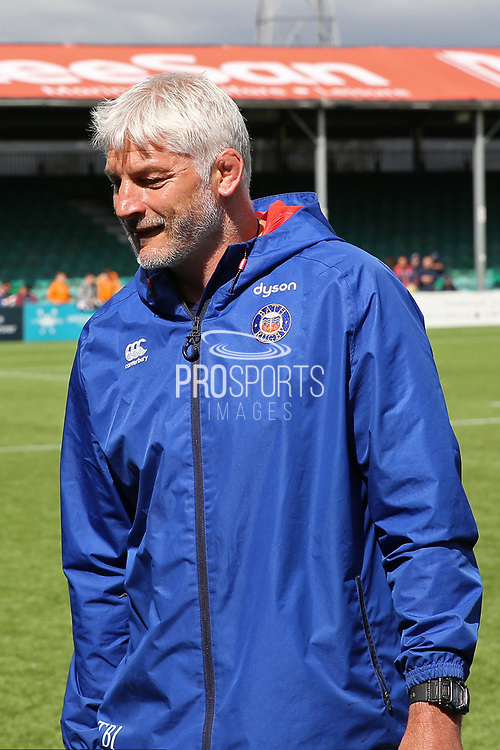 Bath Director of Rugby Todd Blackadder before the Aviva Premiership match between Worcester Warriors and Bath Rugby at Sixways Stadium, Worcester, United Kingdom on 15 April 2017. Photo by Gary Learmonth.