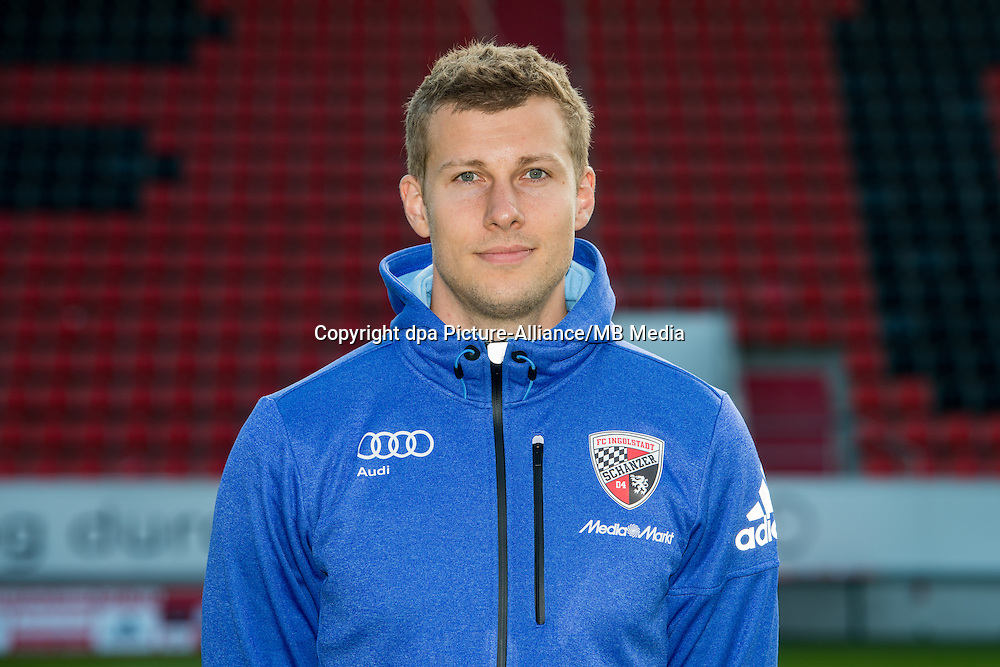 German Soccer Bundesliga 2015/16 - Photocall of FC Ingolstadt 04 on 09 July 2015 in Ingolstadt, Germany: Videoanalyst Robert Deising