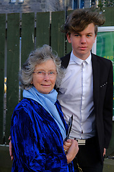 Edinburgh International Film Festival, Wednesday, 19th June 2018<br /> <br /> Opening Night Red Carpet: PUZZLE (International Premiere) <br /> <br /> Pictured: Carol McGregor, mother of Ewan McGregor with his nephew Jamie McGregor<br /> <br /> (c) Aimee Todd | Edinburgh Elite media