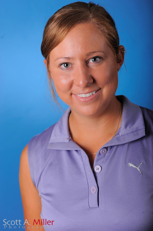 Tara Goedeken during a portrait session prior to the second stage of LPGA Qualifying School at the Plantation Golf and Country Club on Sept. 24, 2011 in Venice, FL...©2011 Scott A. Miller