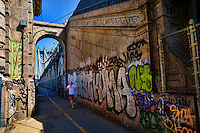 Graffiti on Manhattan Bridge
