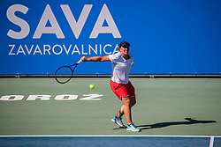 Women's senior of Slovenian championship Zavarovalnica Sava tournament at ATP Challenger Zavarovalnica Sava Slovenia Open 2019, on August 9, 2019 in Sports centre, Portoroz/Portorose, Slovenia. Photo by Grega Valancic / Sportida