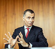 Milan, Jean Pierre Mustier, Unicredti bank CEO