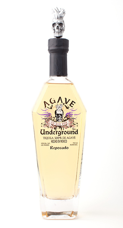 Agave Underground reposado -- Image originally appeared in the Tequila Matchmaker: http://tequilamatchmaker.com