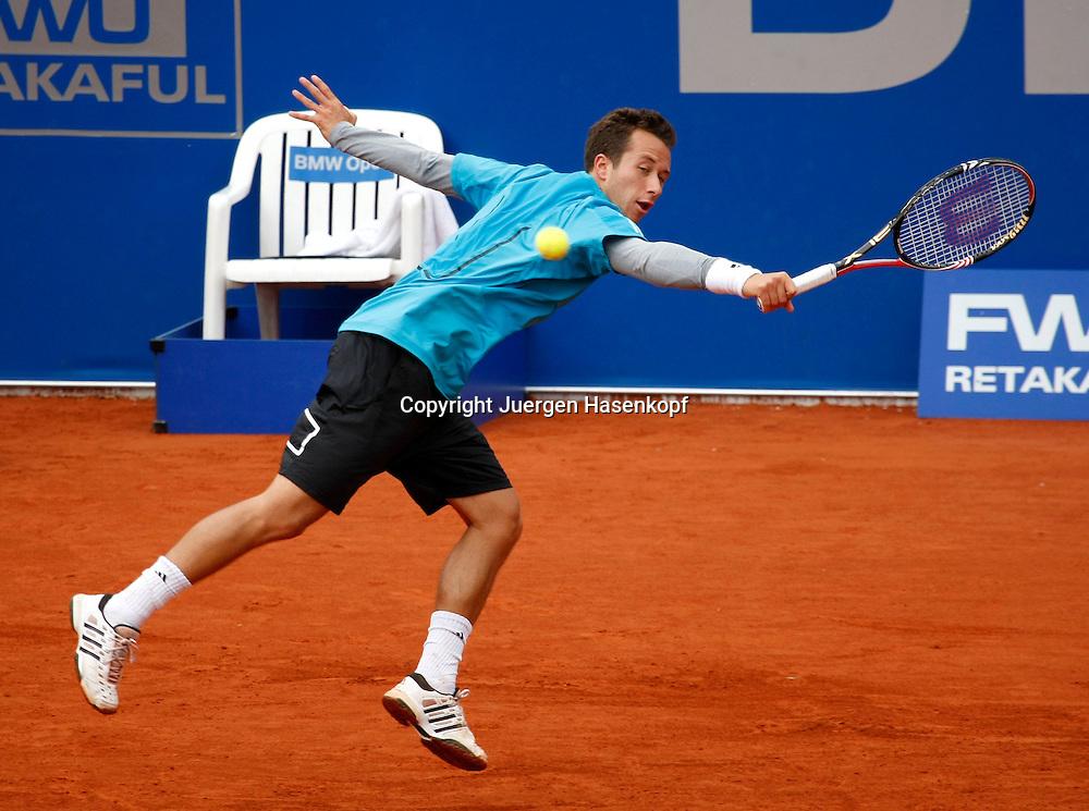BMW Open 2010, Muenchen, Sport, Tennis,  International Series ATP  Tournament,Philipp Kohlschreiber (GER)..Foto: Juergen Hasenkopf