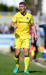 Lee Brown of Bristol Rovers - Mandatory by-line: Alex James/JMP - 08/04/2017 - FOOTBALL - Cherry Red Records Stadium - Kingston upon Thames, England - AFC Wimbledon v Bristol Rovers - Sky Bet League One