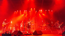 June 30, 2018 - Milwaukee, Wisconsin, U.S - RUBIN POLLOCK, PORLEIFUR GAUKUR DAVIDSSON, JJ JULIUS SON, DAVID ANTONSSON and DANIEL AEGIR KRISTJANSSON of Kaleo performs live at Henry Maier Festival Park during Summerfest in Milwaukee, Wisconsin (Credit Image: © Daniel DeSlover via ZUMA Wire)