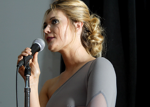Oakwood's Althea Harper, who appeared on TV's Project Runway, talks about the dress she'll be designing for the high bidder in her live auction item during the 53rd Annual Art Ball at the Dayton Art Institute, Saturday, June 12, 2010.