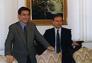 Premio Don Chisciotte 1999<br /> giovanni petrucci, bogdan tanjevic