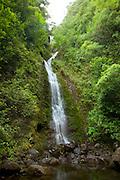 Lulumahu Falls, Lulumahu Valley, Nuuanau, Oahu, Hawaii