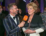 2018-01-24. Circustheater, Scheveningen. Musical Awards Gala 2018. Op de foto: Patrick Martens en Simone Kleinsma