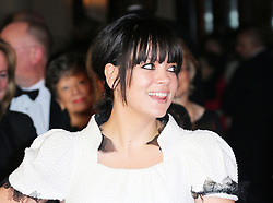 © Licensed to London News Pictures. 20/10/2013, UK. Lily Allen, The BFI London Film Festival: Saving Mr Banks - World Film Premiere, Odeon Leicester Square, London UK, 20 October 2013. Photo credit : Richard Goldschmidt/Piqtured/LNP