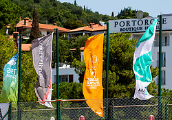 ATP Challenger Zavarovalnica Sava Slovenia Open 2019, day 8, on August 16, 2019 in Sports centre, Portoroz/Portorose, Slovenia. Photo by Vid Ponikvar / Sportida