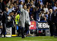 Photo: Richard Lane/Sportsbeat Images.<br />Reading v Chelsea. The FA Barclays Premiership. 15/08/2007. <br />Chelsea's manager, Jose Mourinho celebrates victory.