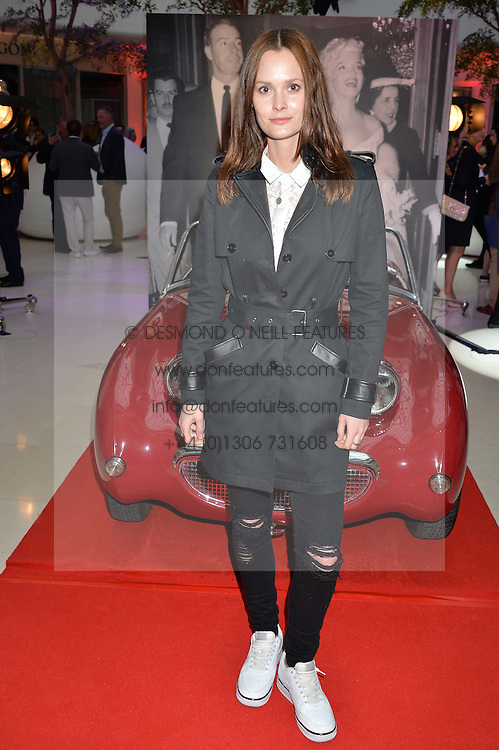 CHARLOTTE DE CARLE at a private view of Marilyn - The Legacy of a Legend held at the Design Centre, Chelsea Harbour, London on 25th May 2016.