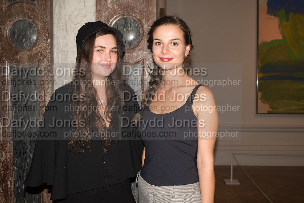HANNAH BLOFELD; GEORGINA WILLOX DUNANT, Opening of Abstract Expressionism, Royal Academy, Piccadilly, London, 20 September 2016