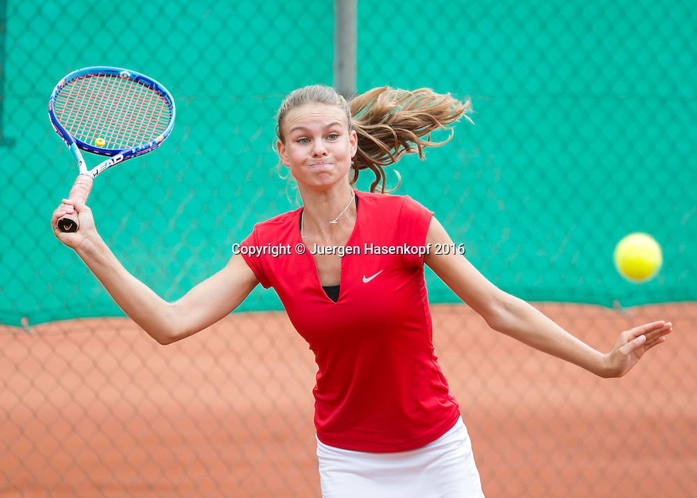 Tennis Europe-Bavarian Junior Open, Laura Susane (LAT) GS16<br /> <br /> Tennis - Bavarian Junior Open 2016 - Tennis Europe Junior Tour -  SC Eching - Eching - Bayern - Germany  - 9 August 2016. <br /> &copy; Juergen Hasenkopf