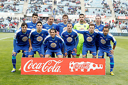 07.04.2012, Stadion Coliseum Alfonso Perez, Getafe, ESP, Primera Division, FC Getafe vs Sporting Gijon, 32. Spieltag, im Bild Getafe's team photo // during the football match of spanish 'primera divison' league, 32th round, between FC Getafe and Sporting Gijon at Coliseum Alfonso Perez stadium, Getafe, Spain on 2012/04/07. EXPA Pictures © 2012, PhotoCredit: EXPA/ Alterphotos/ Alvaro Hernandez..***** ATTENTION - OUT OF ESP and SUI *****