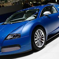 Bugatti Veyron at Geneva Motorshow, 2009