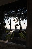 Portugal. Lisbon.  Santa Senhora do Monte view point. and chapel  / Santa Senhora do Monte mirador