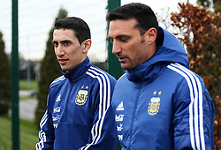 Argentina's Angel di Maria - Mandatory by-line: Matt McNulty/JMP - 21/03/2018 - FOOTBALL - Argentina - Training session ahead of international against Italy