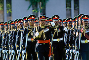 Military parade in Muscat in Oman, Middle East